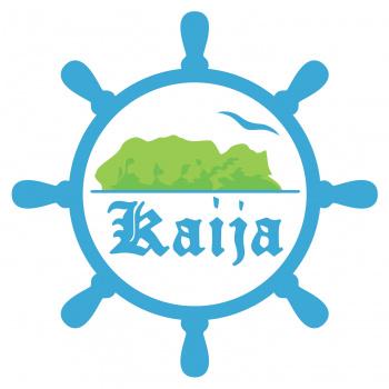 """Plosts """"Kaija"""" Alūksnes ezerā"""