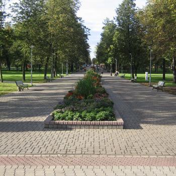 Centrālais parks Daugavpilī